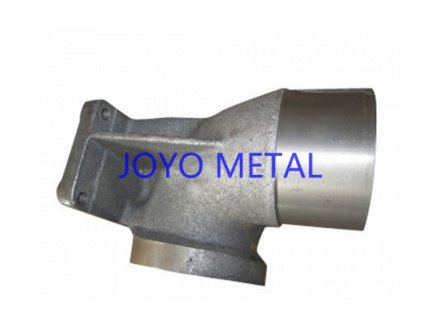 Steel casting connecting part