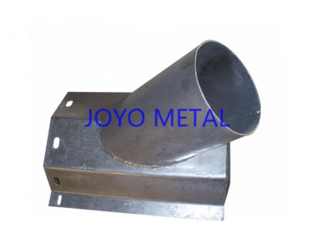 Steel parts with puching hole, material Q235
